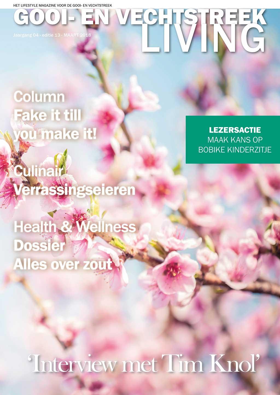 Cover Gooi- en Vechtstreek Living editie 13 - maart 2018