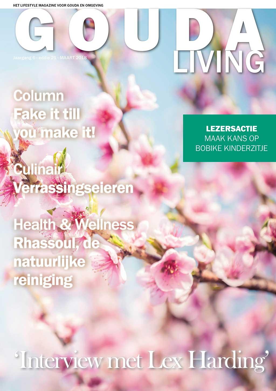 Cover Gouda Living editie 21 - maart 2018
