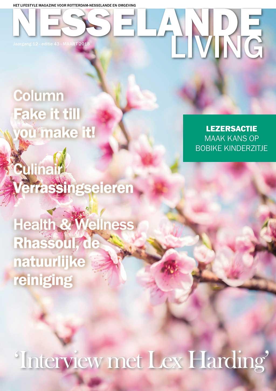 Cover Nesselande Living editie 43 - maart 2018
