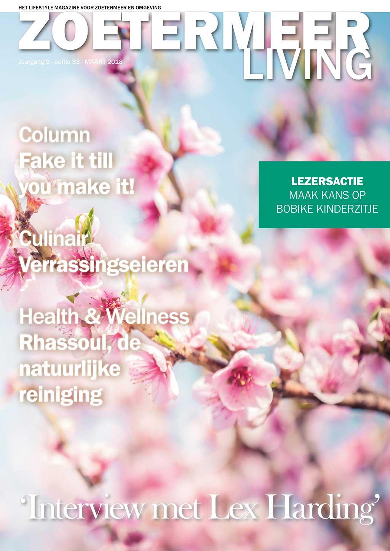 Cover Zoetermeer Living editie 33 - maart 2018