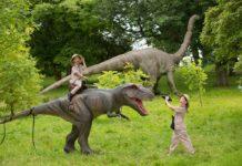 Dino's komen deze zomer tot leven in Schiedam