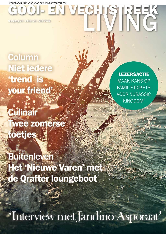 Cover Gooi- en Vechtstreek Living editie 14 - juni 2018