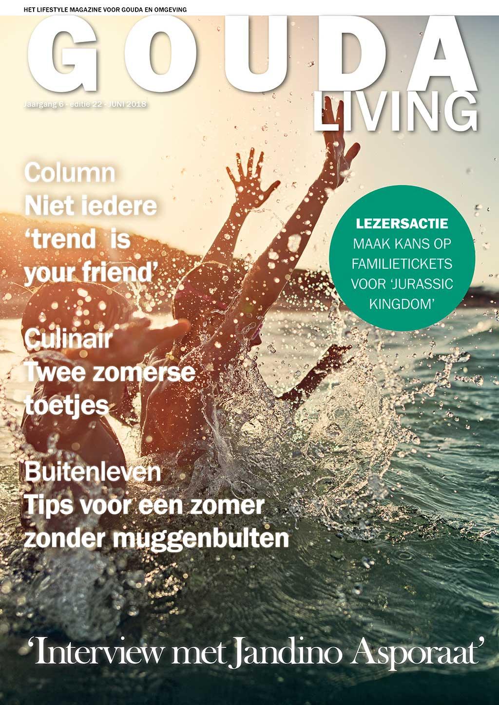 Cover Gouda Living editie 22 - juni 2018