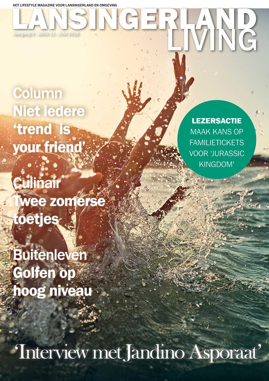 Cover Lansingerland Living editie 31 - juni 2018
