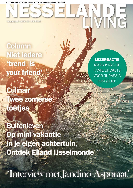 Cover Nesselande Living editie 44 - juni 2018