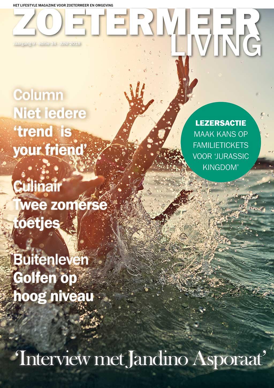 Cover Zoetermeer Living editie 34 - juni 2018