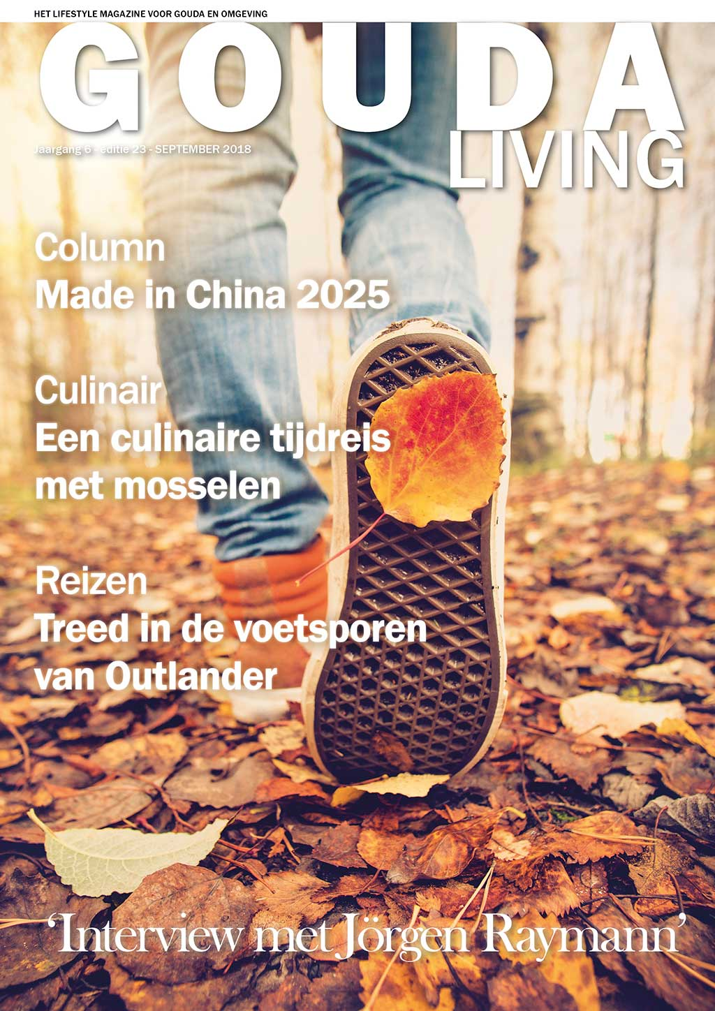 Cover Gouda Living editie 23 - september 2018