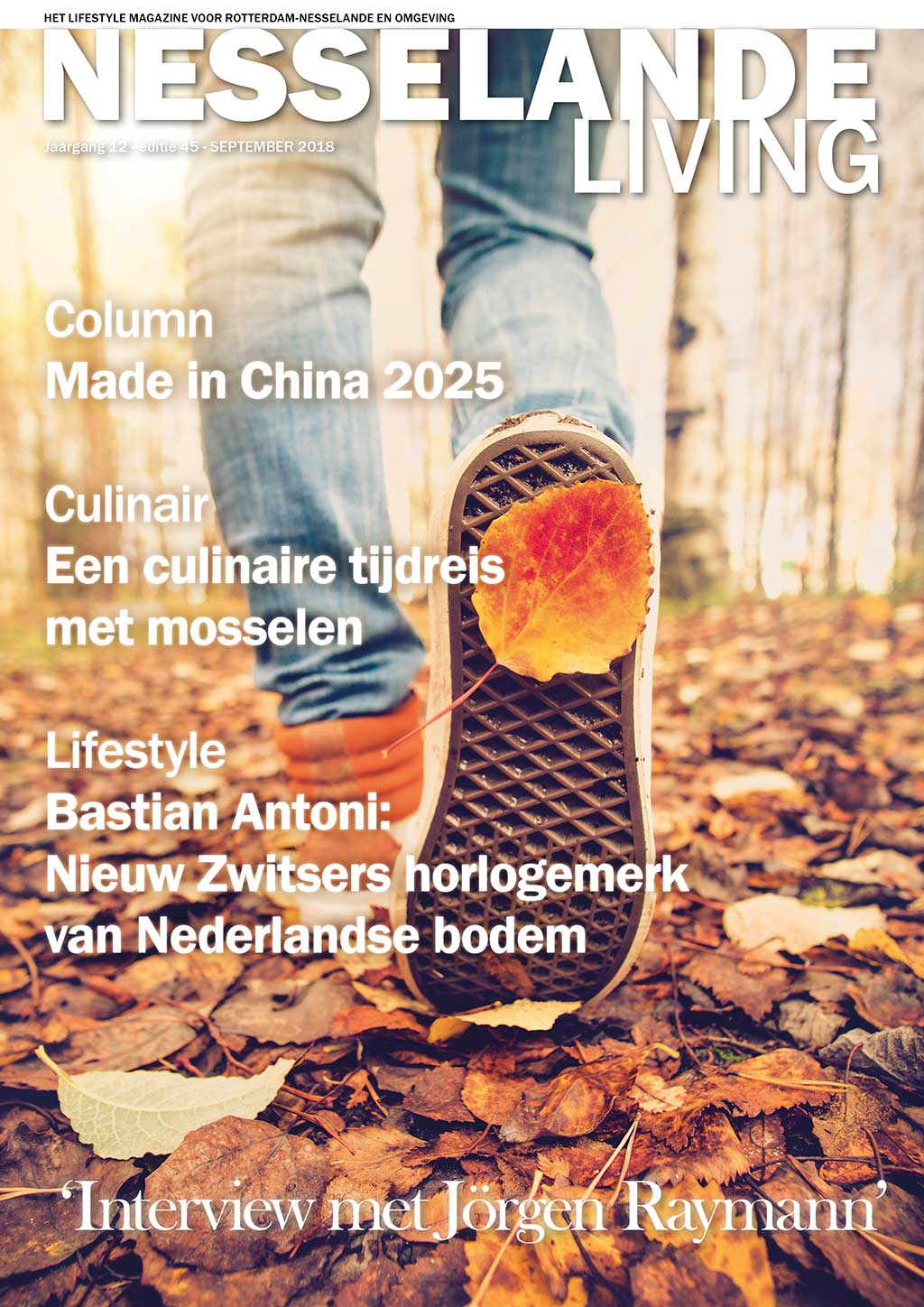Cover Nesselande Living editie 45 - september 2018