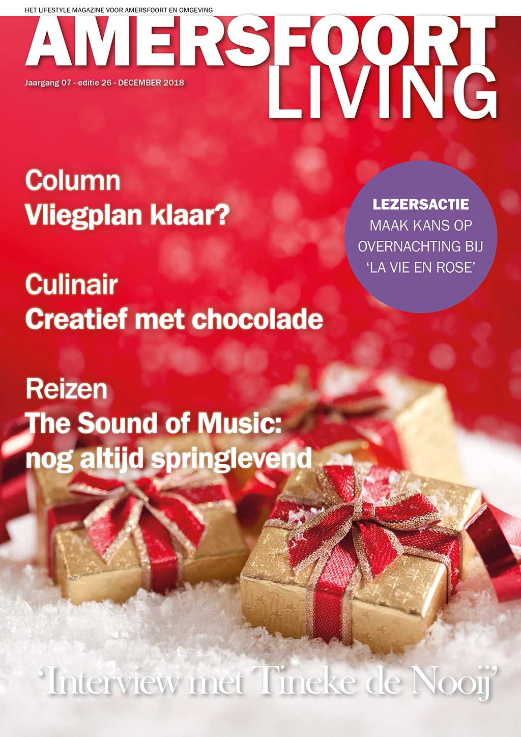 Cover Amersfoort Living editie 26 - december 2018