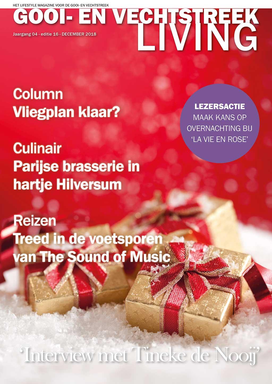 Cover Gooi- en Vechtstreek Living editie 16 - december 2018