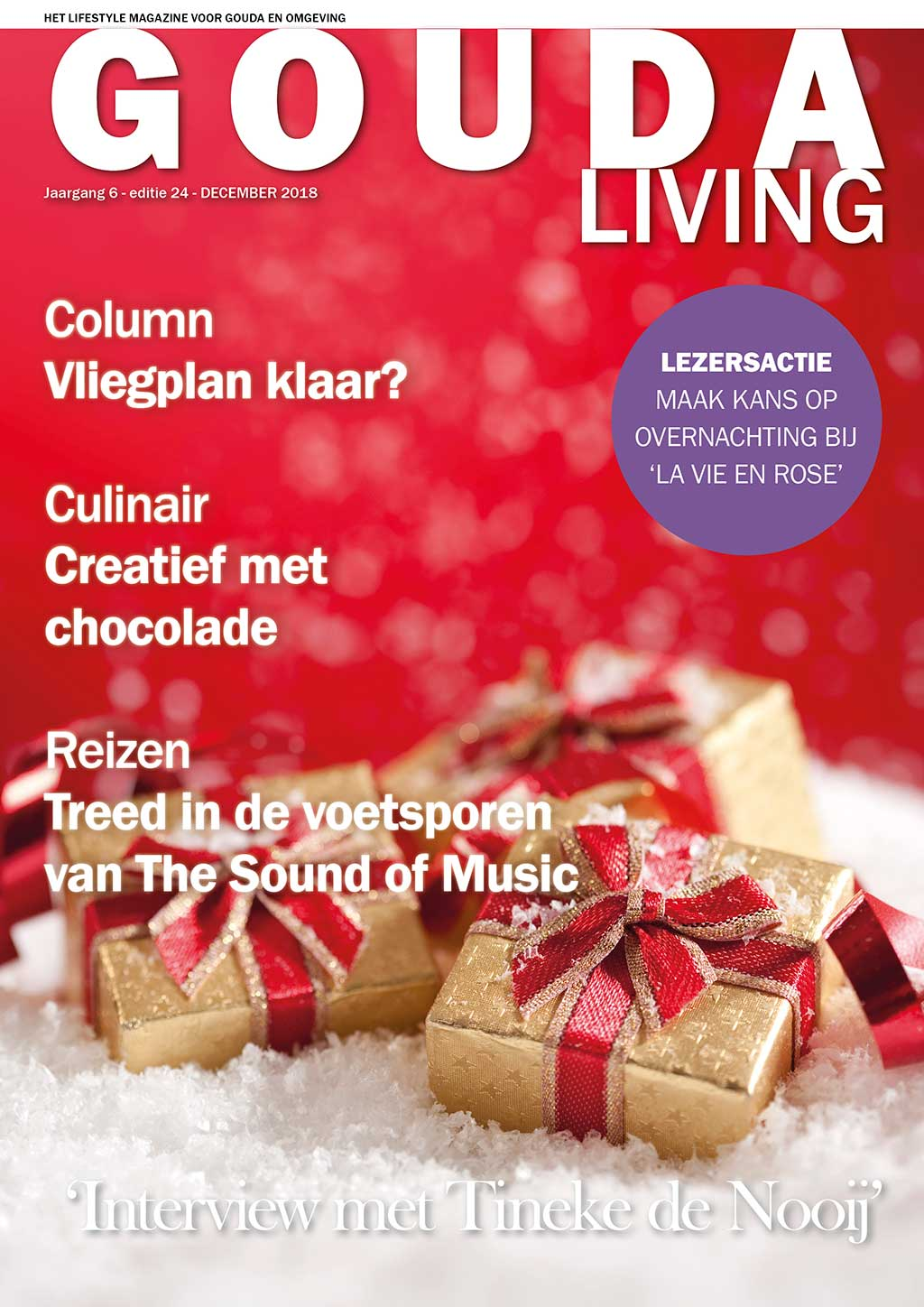 Cover Gouda Living editie 24 - december 2018