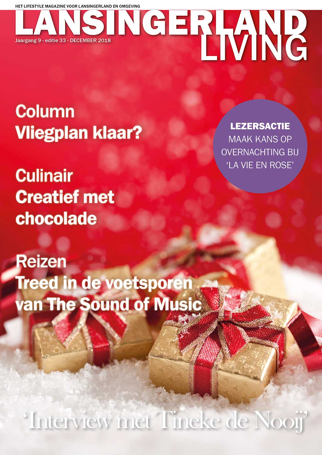 Cover Lansingerland Living editie 33 - december 2018