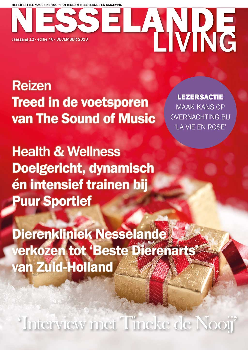 Cover Nesselande Living editie 46 - december 2018