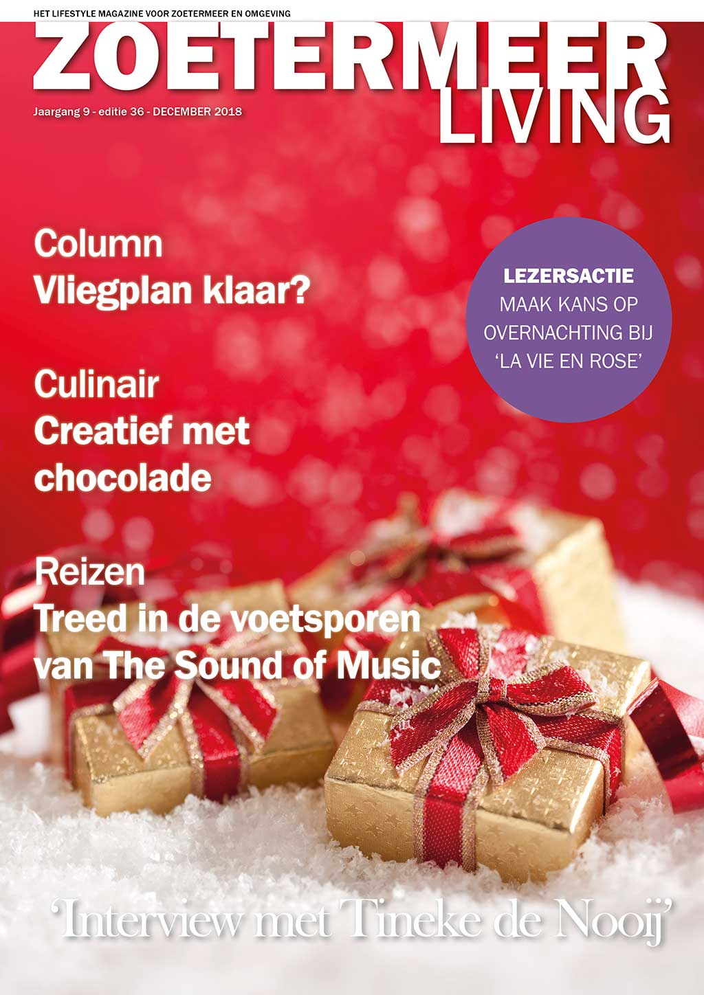 Cover Zoetermeer Living editie 36 - december 2018