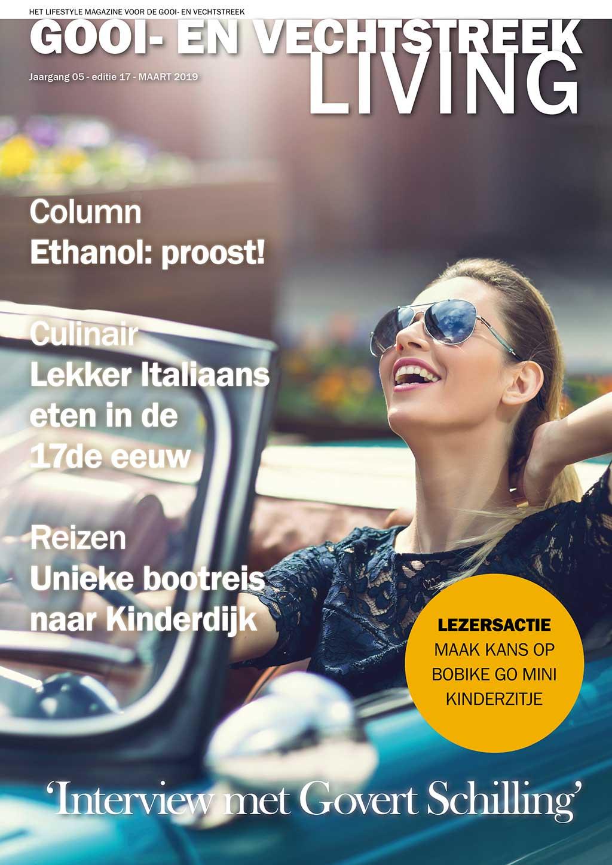 Cover Gooi- en Vechtstreek Living editie 17 - maart 2019