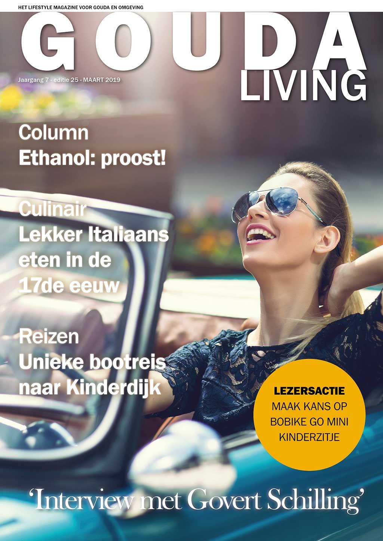 Cover Gouda Living editie 25 - maart 2019