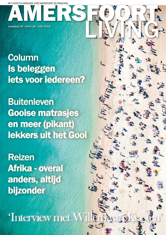 Cover Amersfoort Living editie 28 - juni 2019