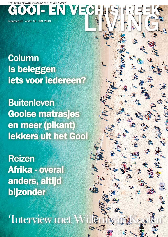 Cover Gooi- en Vechtstreek Living editie 18 - juni 2019