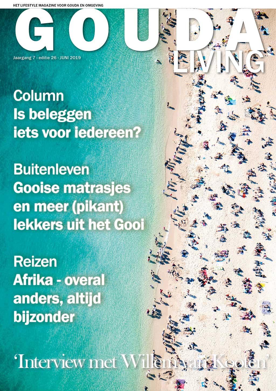 Cover Gouda Living editie 26 - juni 2019