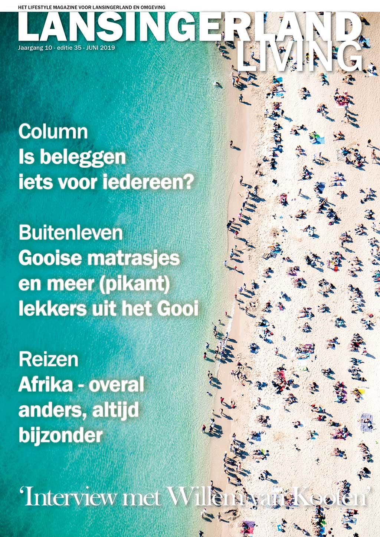 Cover Lansingerland Living editie 35 - juni 2019