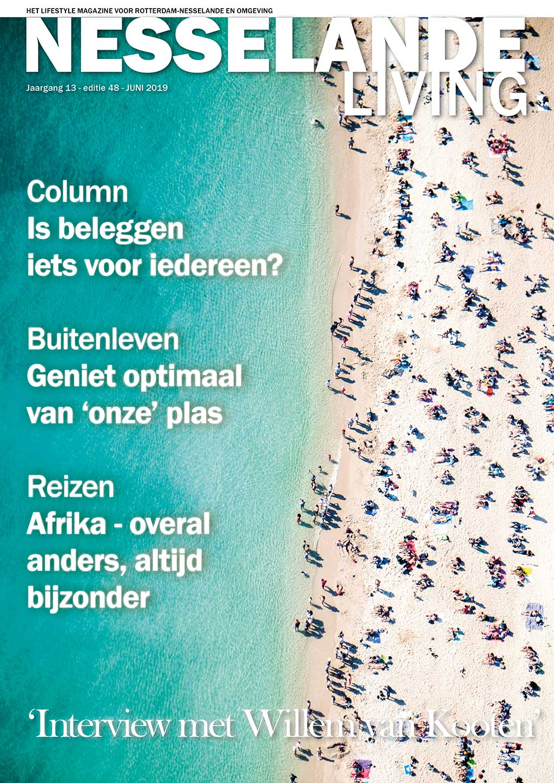Cover Nesselande Living editie 48 - juni 2019