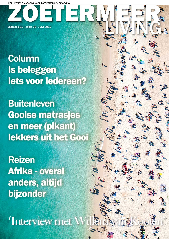 Cover Zoetermeer Living editie 38 - juni 2019