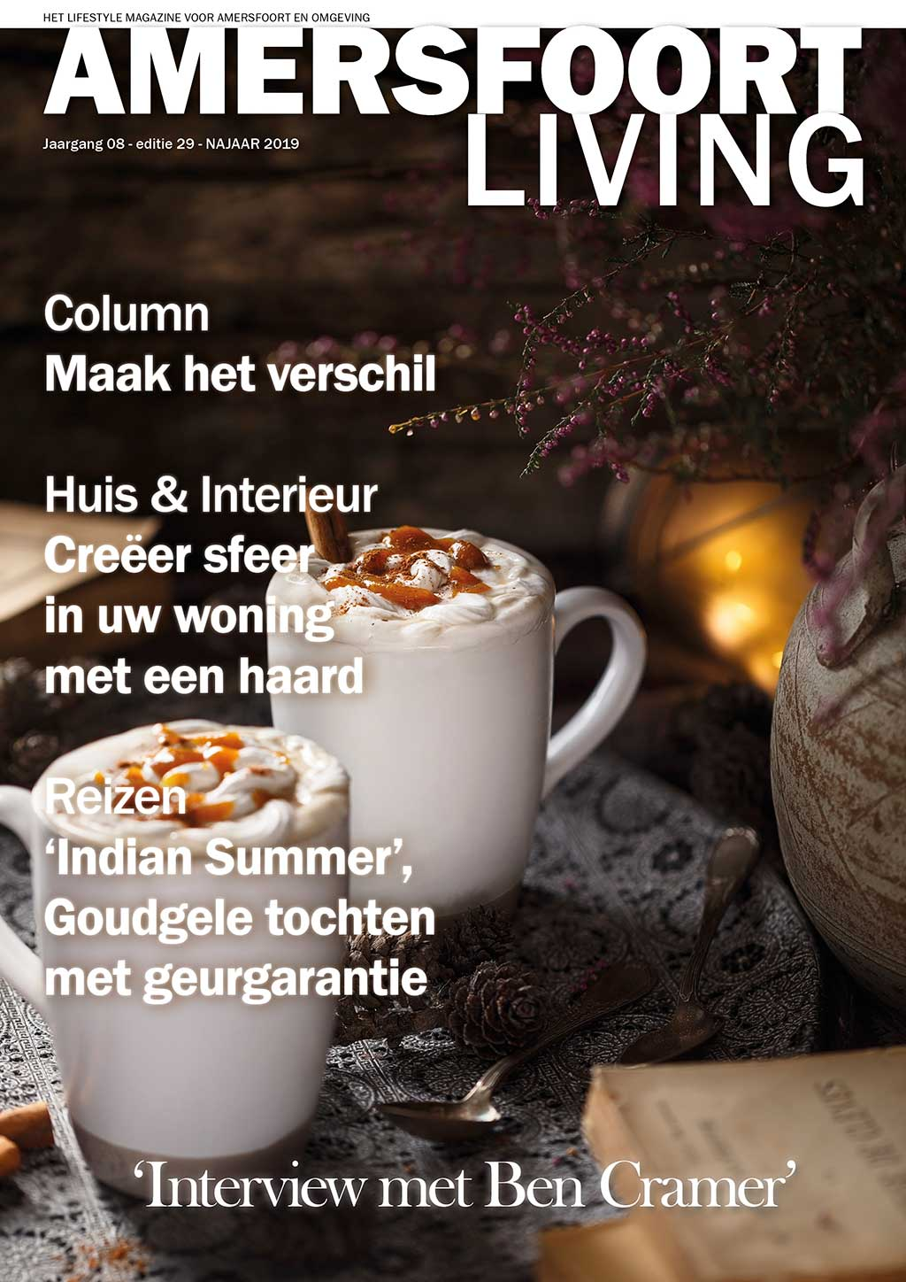 Cover Amersfoort Living editie 29 - september 2019