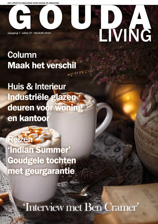 Cover Gouda Living editie 27 - najaar 2019