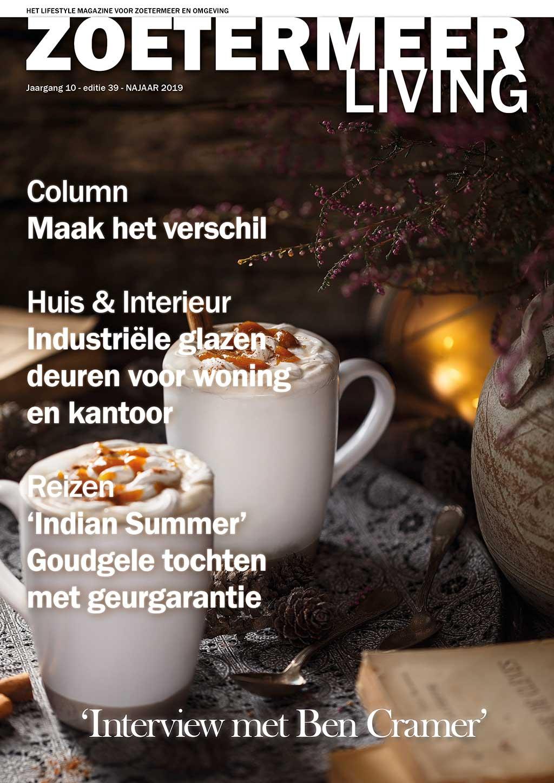 Cover Zoetermeer Living editie 39 - najaar 2019