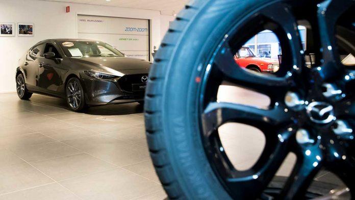 Mulder-Mazda - Fotografie Marc de Jong