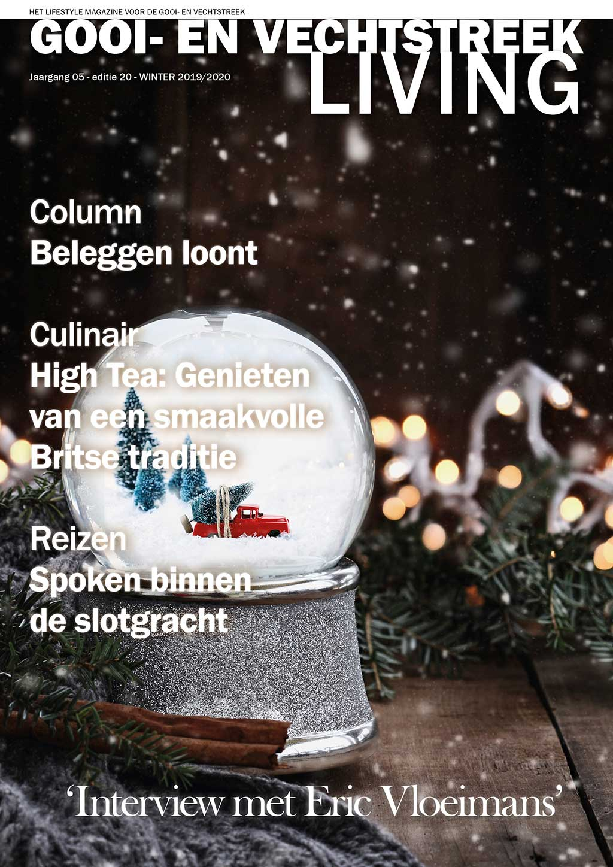 Cover Gooi- en Vechtstreek Living editie 20 - winter 2019/20