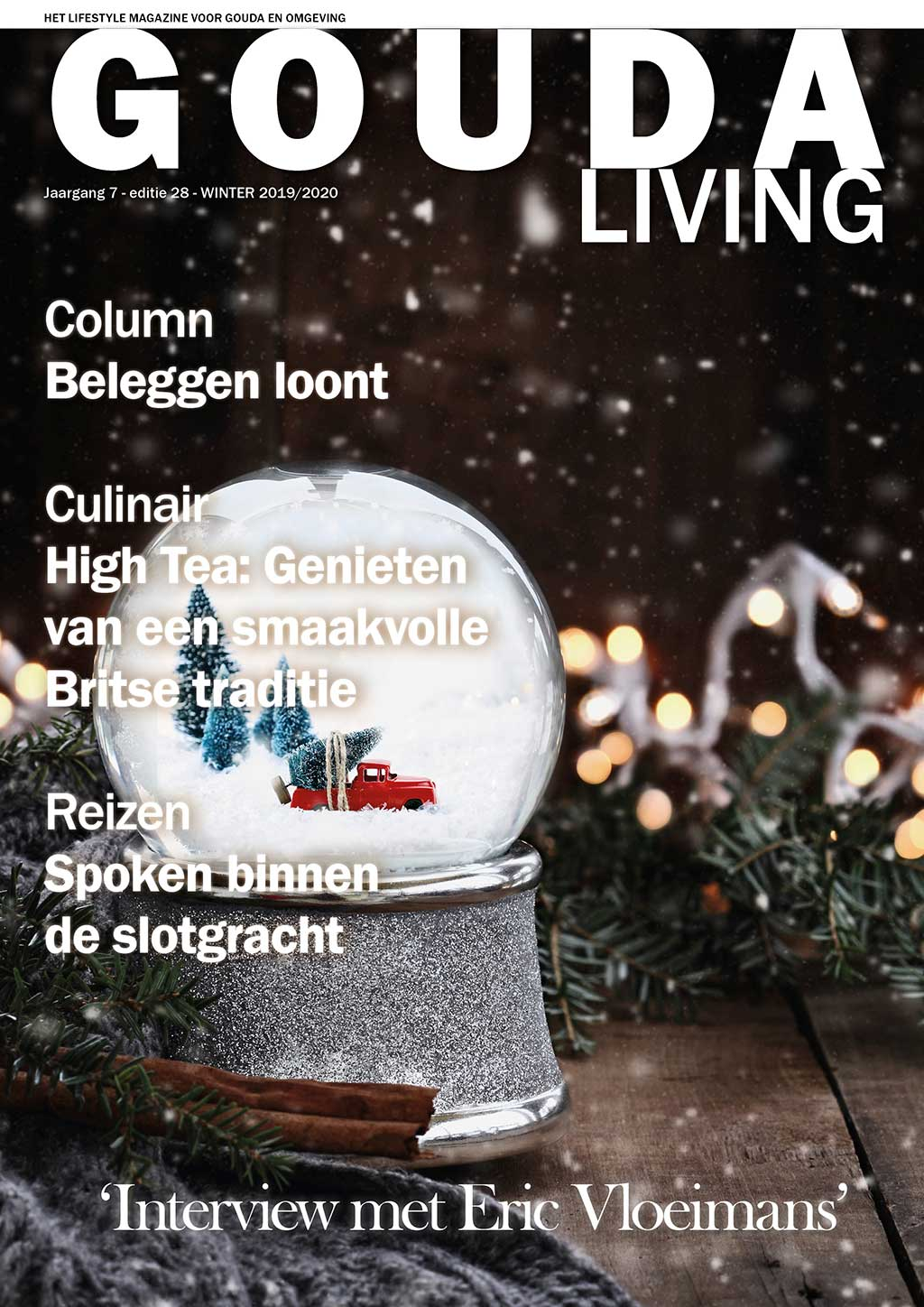 Cover Gouda Living editie 28 - winter  2019/20