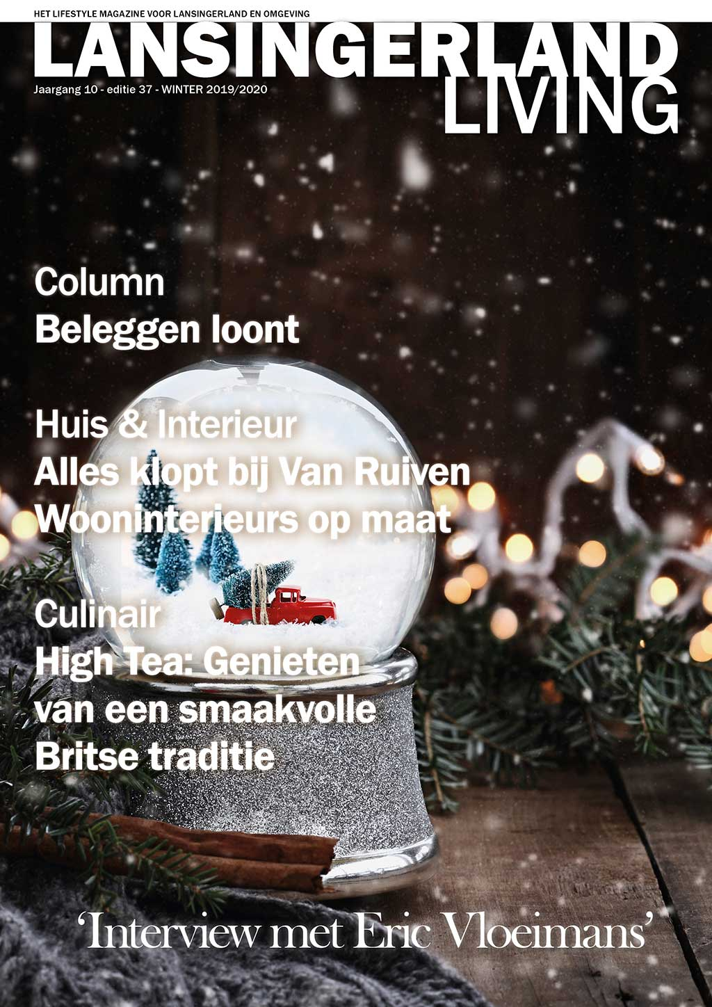 Cover Lansingerland Living editie 37 - winter 2019/20