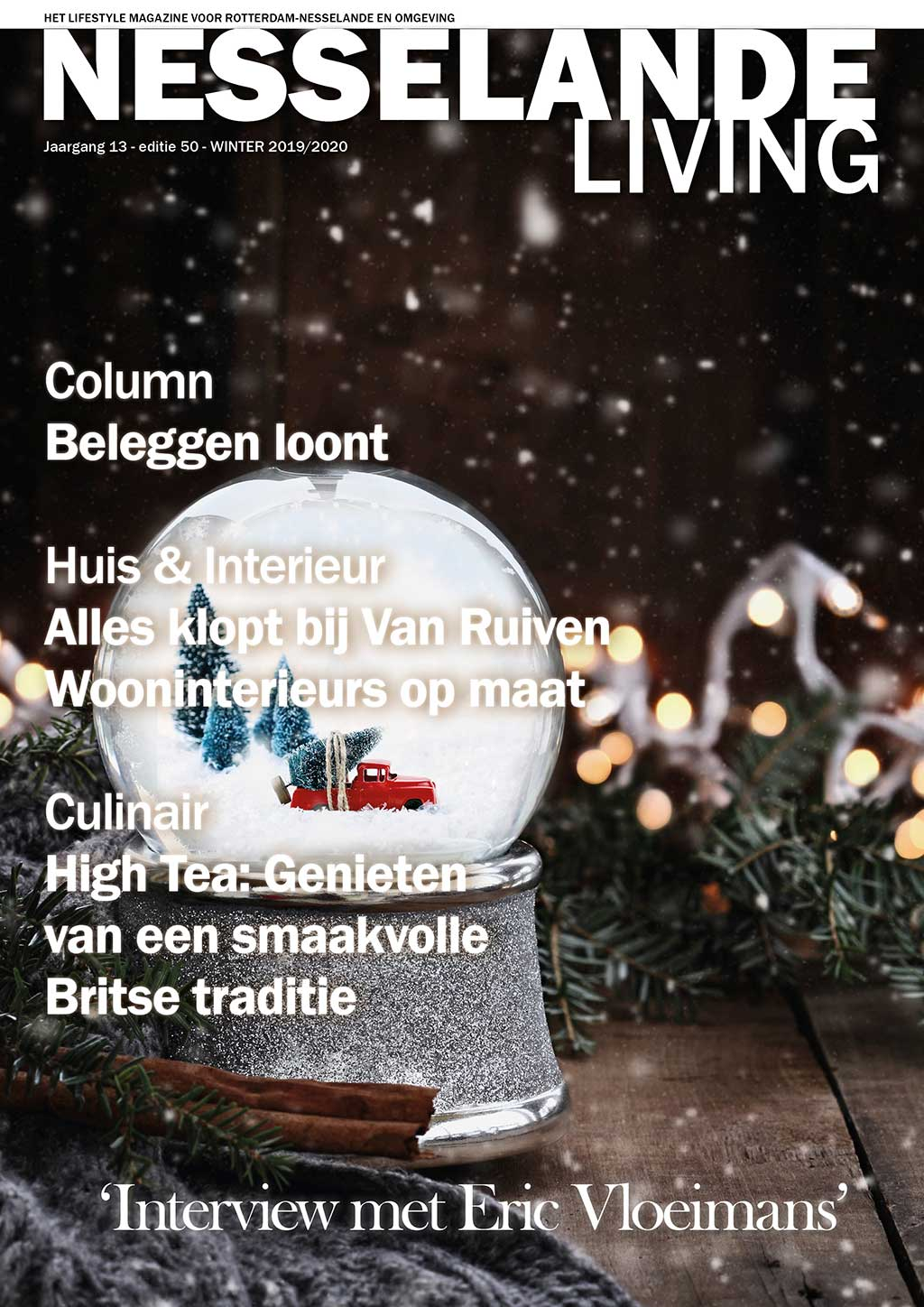 Cover Nesselande Living editie 50 - winter 2019/20