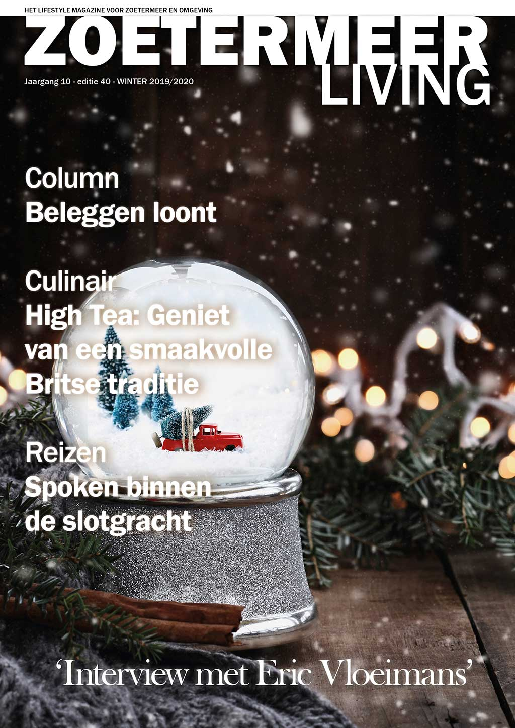 Cover Zoetermeer Living editie 40 - winter 2019/20