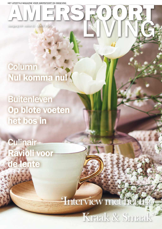 Cover Amersfoort Living editie 31 - voorjaar 2020