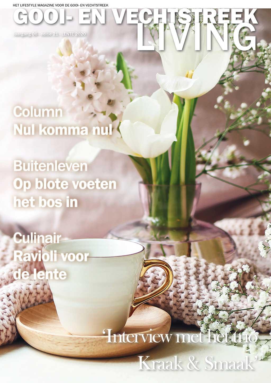 Cover Gooi- en Vechtstreek Living editie 21 - voorjaar 2020