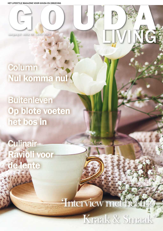 Cover Gouda Living editie 29 - voorjaar 2020
