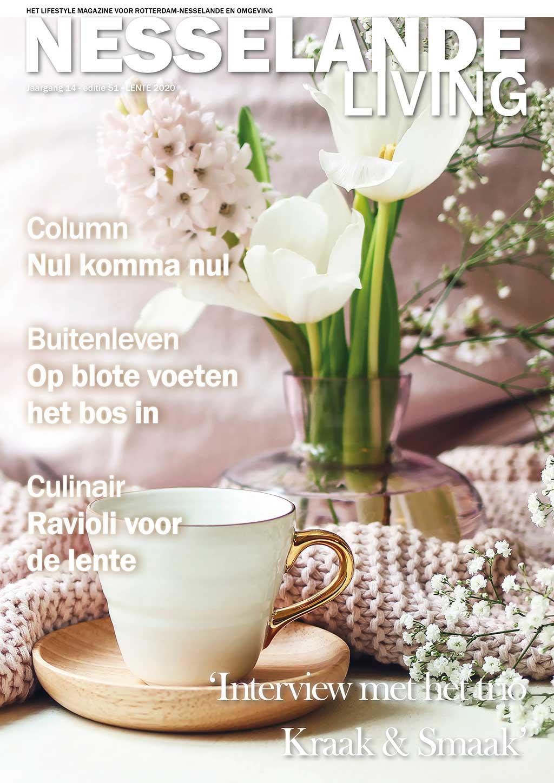Cover Nesselande Living editie 51 - voorjaar 2020