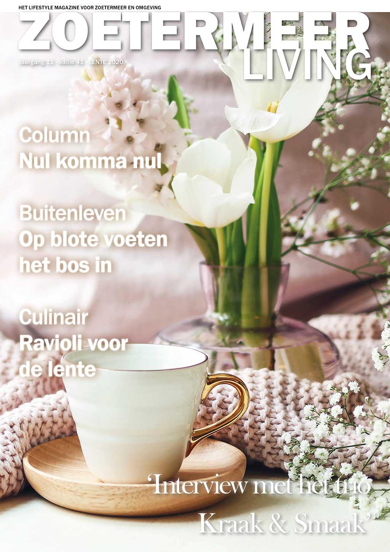 Cover Zoetermeer Living editie 41 - voorjaar 2020