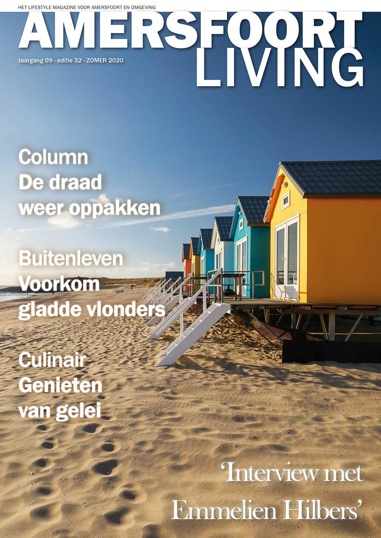 Cover Amersfoort Living editie 32 - zomer 2020