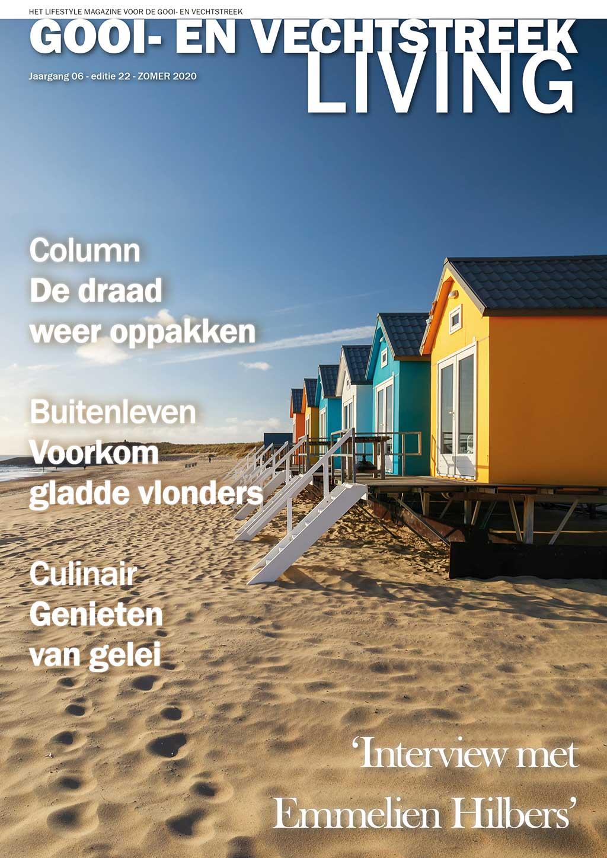Cover Gooi- en Vechtstreek Living editie 22 - zomer 2020