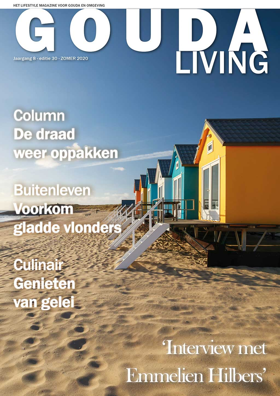 Cover Gouda Living editie 30 - zomer 2020