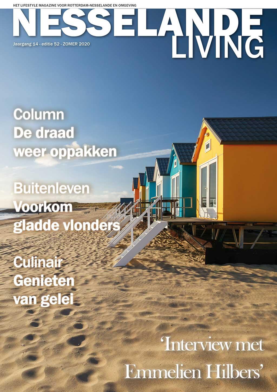 Cover Nesselande Living editie 52 - zomer 2020