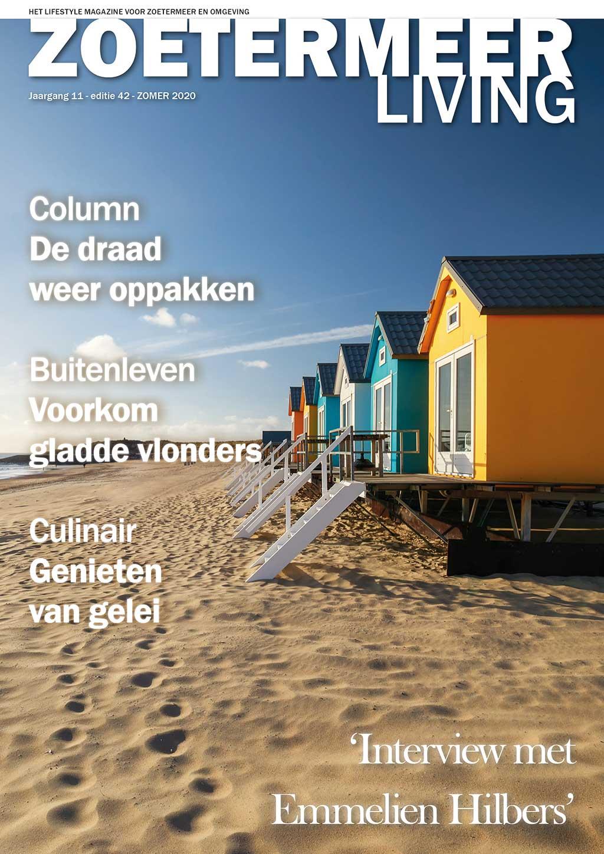 Cover Zoetermeer Living editie 42 - zomer 2020