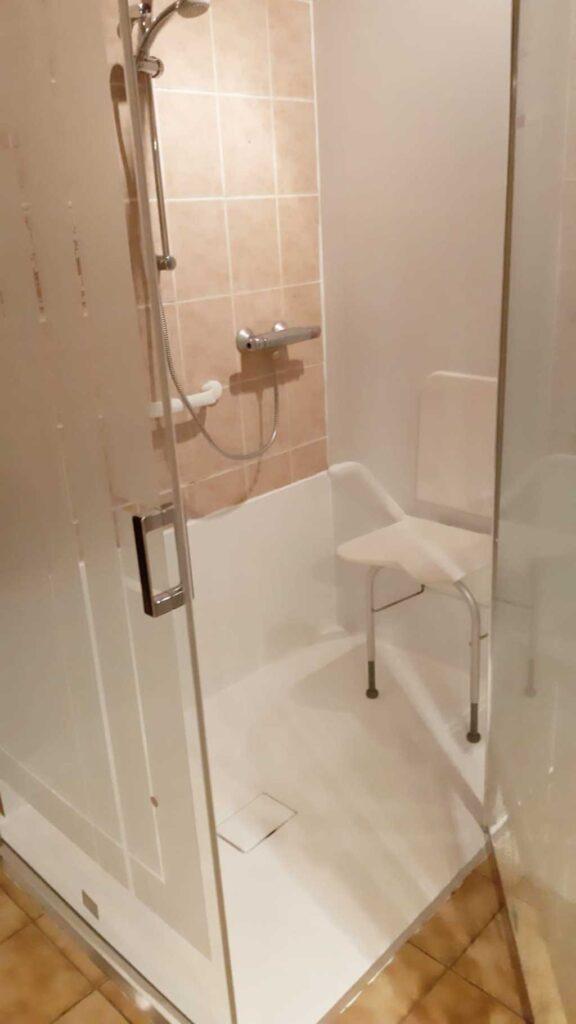 Pronk ergo - bad naar douche