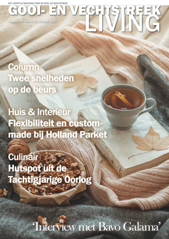 Cover Gooi- en Vechtstreek Living editie 23 - najaar 2020