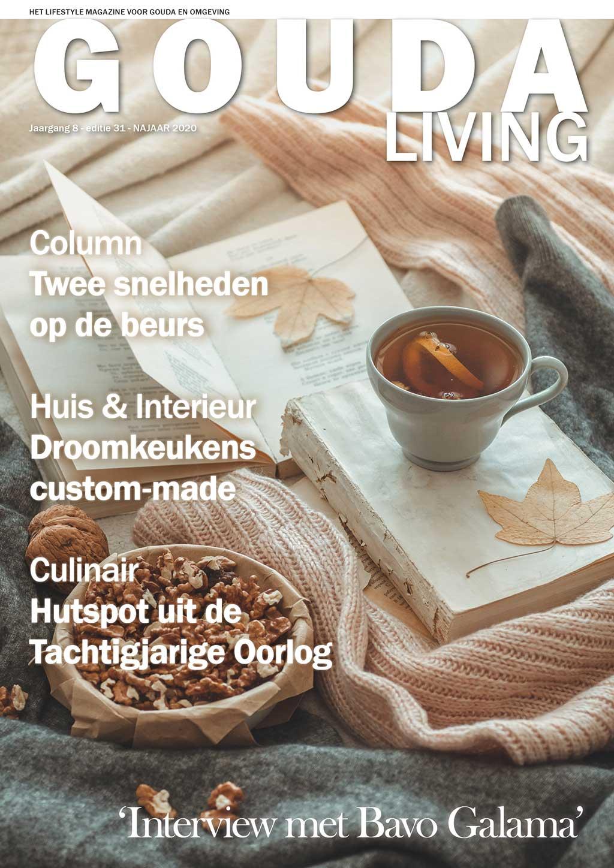 Cover Gouda Living editie 31 - najaar 2020