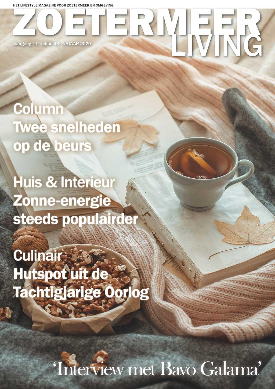 Cover Zoetermeer Living editie 43 - najaar 2020