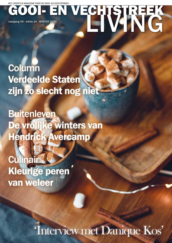Cover Gooi- en Vechtstreek Living editie 24 - winter 2020